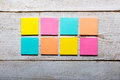 Colorful Sticky Notes Stock Photography - 66619992