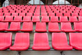 Red Seats In Football Stadium Royalty Free Stock Photos - 66639248