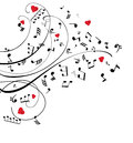 Vector Musical Notes Stock Images - 66685714