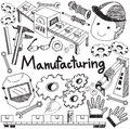 Manufacturing And Operation System In Factory Production Assembl Royalty Free Stock Photo - 66691675
