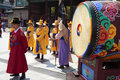 Seoul, South Korea, Traditional Changing Of The Royal Guard Drum Royalty Free Stock Photo - 66696615