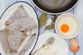 Frozen Fish With Egg Stock Image - 66719611