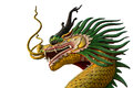 Close Up Of Golden Dragon Head Statue Royalty Free Stock Photos - 66785528