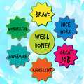 Well Done Appreciation Messages For Children Royalty Free Stock Photos - 66794478