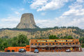 Devils Tower Trading Post Royalty Free Stock Photo - 66814775