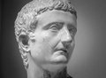 Marble Sculpture Of The Emperor Tiberius Royalty Free Stock Image - 66822886