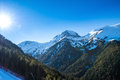 Snow-capped Mountains Royalty Free Stock Photos - 66828468