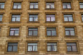 Windows In A Row On Facade Of Apartment Building Royalty Free Stock Photos - 66853218
