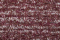 Brown Red White Knitted Melange Fabric Cloth Pattern Stock Photos - 66873683