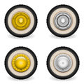 Classic Scooter Bike Wheels Royalty Free Stock Photography - 66888907