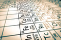 Focus On Transition Metals Chemical Elements Stock Image - 66890331