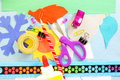 Craft Supply Tools  For Kids School Paper Craft Stock Photo - 66904690