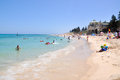 Cooling Off At Cottesloe Beach Stock Photos - 66916153