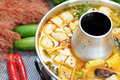 Spicy Pork Soup Royalty Free Stock Images - 66923339