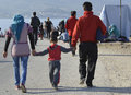 Refugees Journey On Lesvos Greece Stock Photography - 66940892
