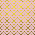 Gold Butterflies Polka Dot Metallic Faux Foil Pink Background Stock Images - 66946684