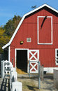 Red Barn Stock Image - 66975921