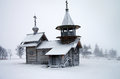 North Russian Wooden Architecture - Open-air Museum Kizhi, Karelia Royalty Free Stock Photos - 66994018