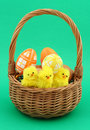 Easter Basket Royalty Free Stock Photo - 676685