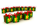 Merry Christmas Gifts Stock Photo - 6700670