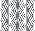 Vector Modern Seamless Geometry Pattern Hexagon Grunge, Black And White Abstract Royalty Free Stock Image - 67006786