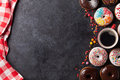 Donuts And Coffee Royalty Free Stock Images - 67062509