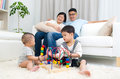 Asian Family Stock Images - 67078684