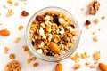 Homemade Granola With Nuts Royalty Free Stock Image - 67092036