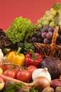 Vegetable And Fruits Food Still-life Royalty Free Stock Photography - 6716987