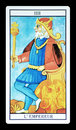 The Emperor In The Tarot Royalty Free Stock Images - 67112669
