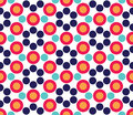 Vector Modern Seamless Colorful Geometry Circle Pattern, Color Abstract Royalty Free Stock Image - 67117906