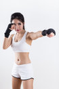 Boxing Woman Royalty Free Stock Photos - 67133198