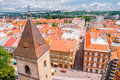 View On Roofs In Kosice From St. Elisabeth Cathedral Royalty Free Stock Images - 67154509