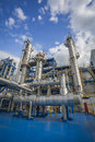 Process Area Of Refinery Plant Royalty Free Stock Images - 67176699