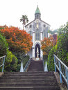 Oura Church In Autumn Royalty Free Stock Photography - 67187087