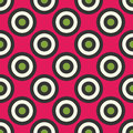 Vector Modern Seamless Colorful Geometry Circles Pattern, Color Abstract Royalty Free Stock Photography - 67194907