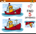 Find The Differences Task For Kids Stock Images - 67216374