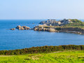 Landscape On The Guernsey Island Royalty Free Stock Photo - 67216725