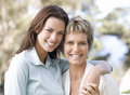 Portrait Of A Mother And Daughter Royalty Free Stock Photography - 67225947
