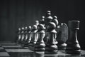 Chess Pieces On The Board Stock Photos - 67226193