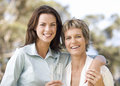 Portrait Of A Mother And Daughter Stock Photos - 67226553
