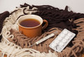 Cold Treatment At Home. Royalty Free Stock Photos - 67238458