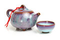Teapot And Teacups Royalty Free Stock Images - 67251169