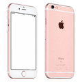 Rose Gold Apple IPhone 6S Mockup Slightly Rotated Front View Royalty Free Stock Photos - 67262948