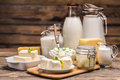 Still Life With Dairy Product Stock Image - 67274901
