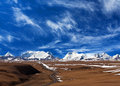 Himalaya Mountain Landscape In Ngari, Western Tibet Royalty Free Stock Photo - 67284555