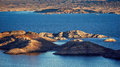 Lake Mead Islands - Aerial Royalty Free Stock Image - 67294316