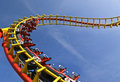 Roller Coaster Royalty Free Stock Photos - 6730958