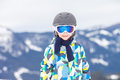 Young Child, Skiing On Snow Slope In Ski Resort In Austria Stock Photo - 67313410