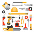 Home Repair Tools Vector Icons. Working Repair Tools For Repair Royalty Free Stock Images - 67325229